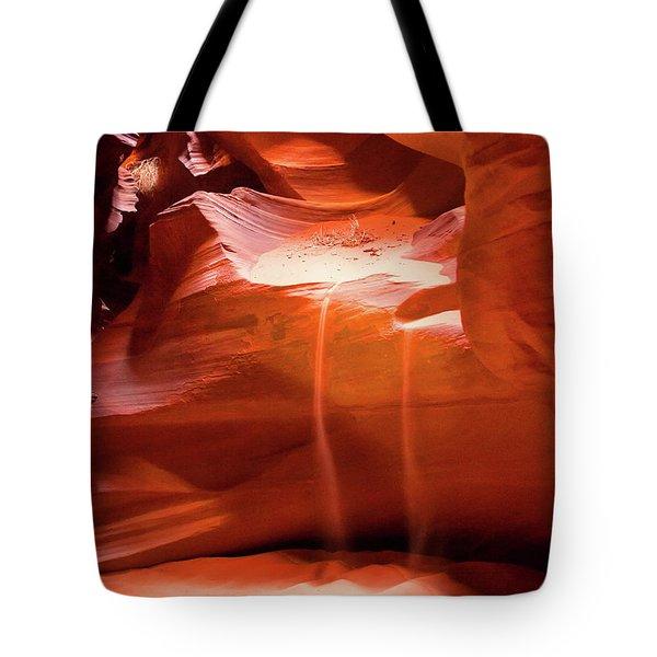 Antelope Canyon - The Falls Tote Bag
