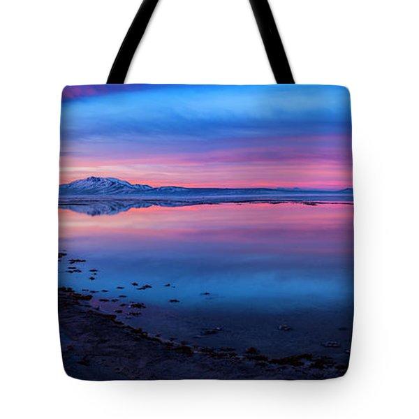 Antelope Island Sunrise Tote Bag