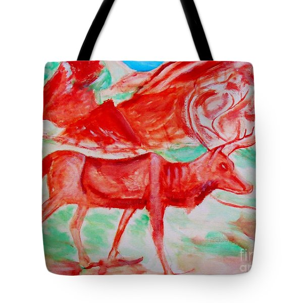 Antelope Save Tote Bag