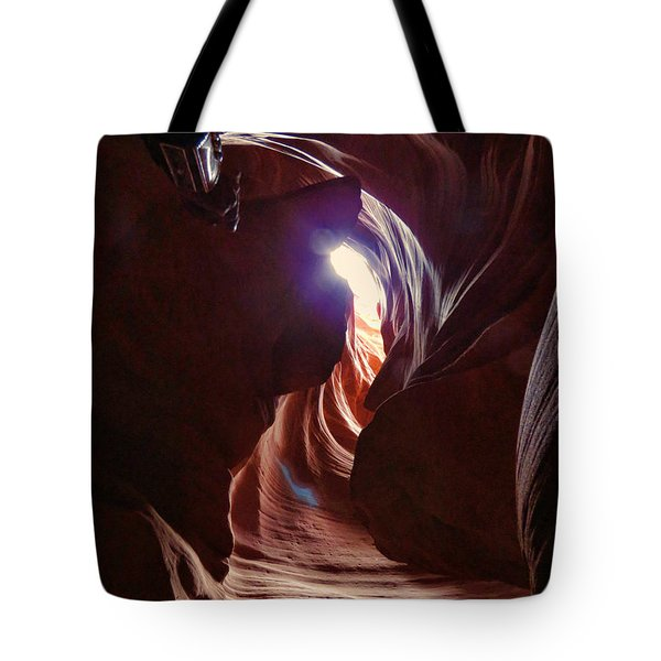 Antelope Valley Slot Canyon 2 Tote Bag