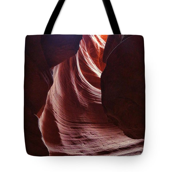 Antelope Valley Slot Canyon 3 Tote Bag