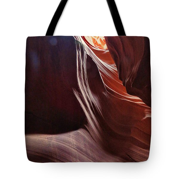 Antelope Valley Slot Canyon 8 Tote Bag