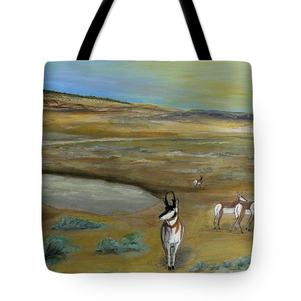 Antelopes Tote Bag