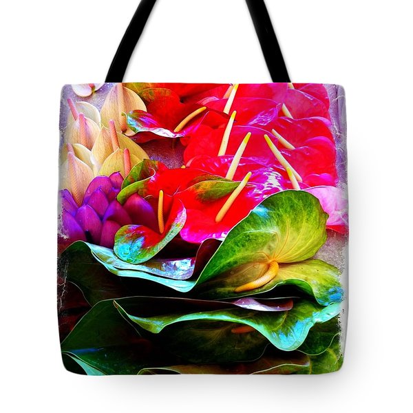 Anthurium  Tote Bag