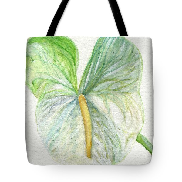 Anthurium Tote Bag