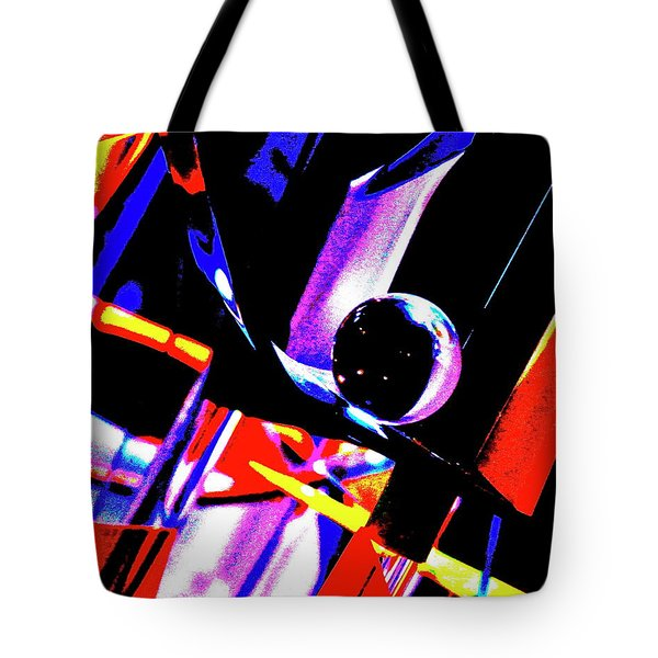 Tote Bag featuring the photograph Anti Gravity by Xn Tyler