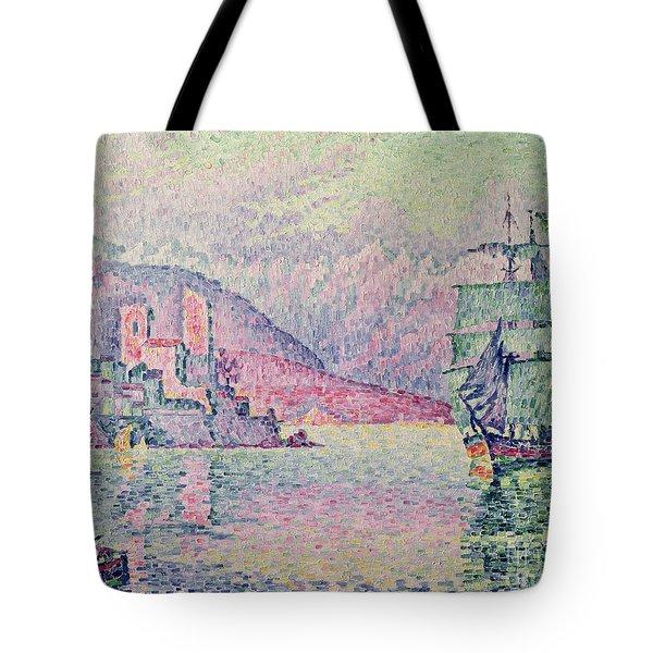 Antibes Tote Bag by Paul Signac