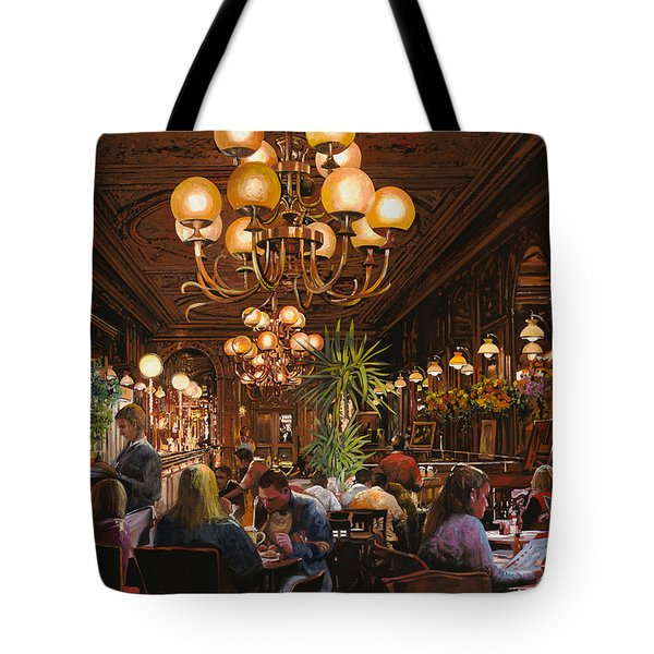 Antica Brasserie Tote Bag by Guido Borelli