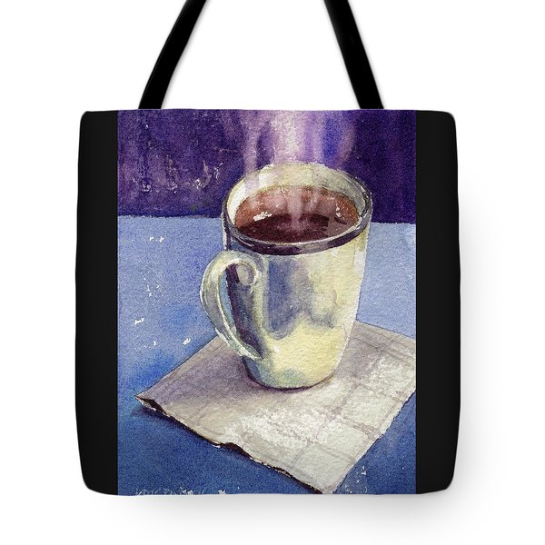 Tote Bag featuring the painting Anticipation by Kris Parins