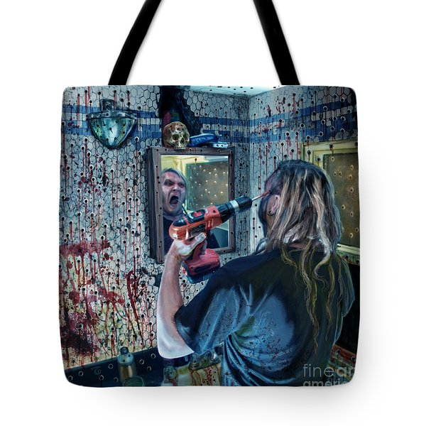 Anticipation Of Death Is Killing Me Tote Bag