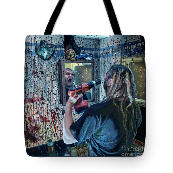 Anticipation Of Death Is Killing Me Tote Bag by Tony Koehl