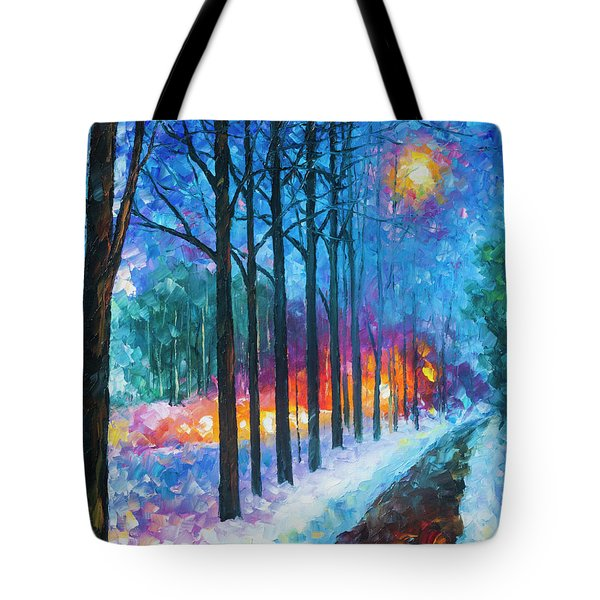 Anticipation Of Spring  Tote Bag by Leonid Afremov