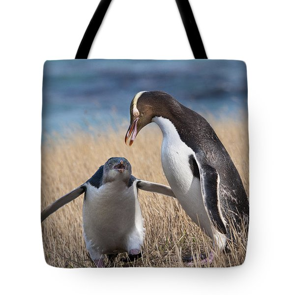 Tote Bag featuring the photograph Anticipation by Werner Padarin