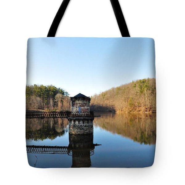 Antietam Creek Tote Bag by Bill Cannon