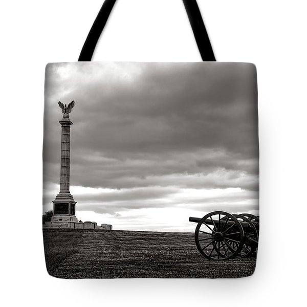 Antietam Silence  Tote Bag