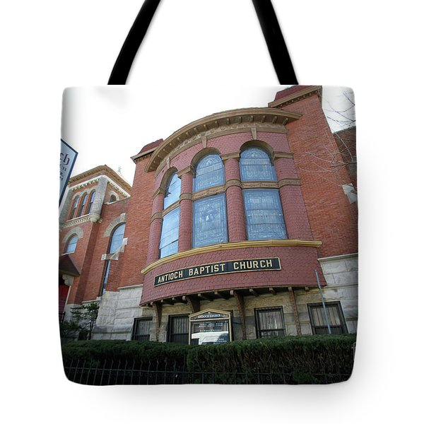 Antioch Baptist Church Tote Bag