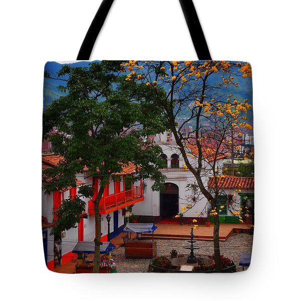 Tote Bag featuring the photograph Antioquia by Skip Hunt