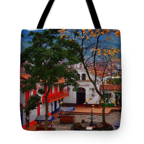 Antioquia Tote Bag by Skip Hunt