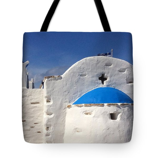 Antiparos Island Greece  Tote Bag