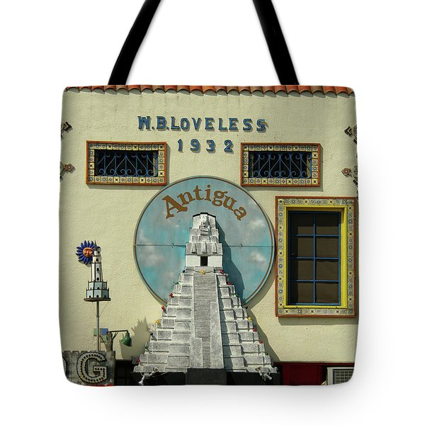 Tote Bag featuring the photograph Antiqua by Gregg Cestaro