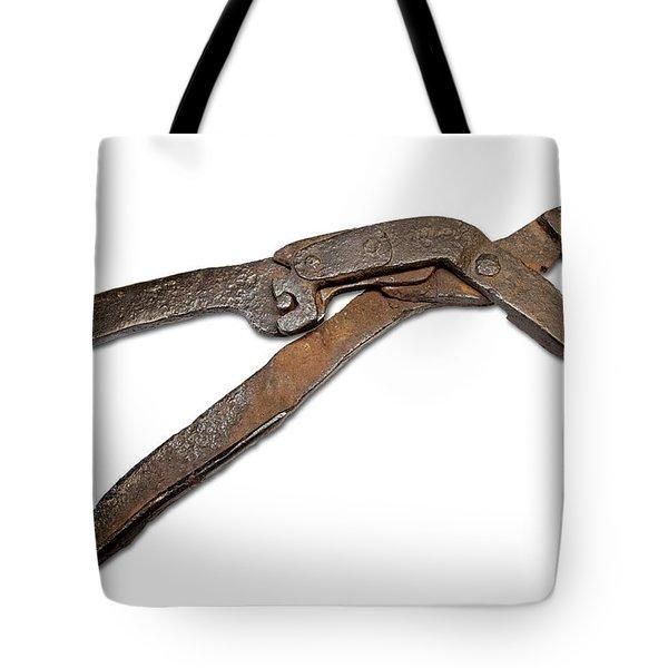 Antique Adjustable Plier Tote Bag