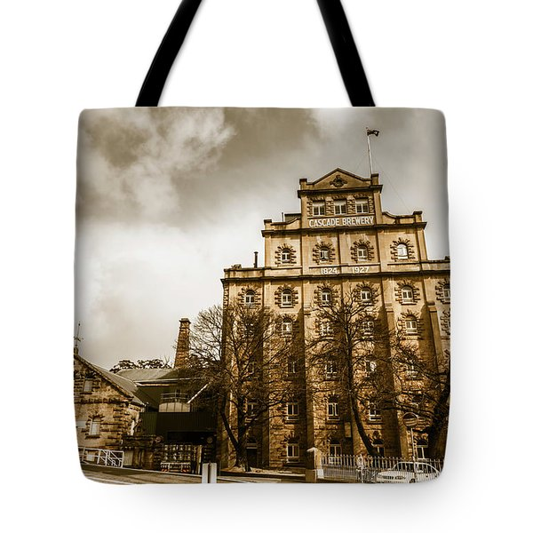 Antique Australia Architecture Tote Bag