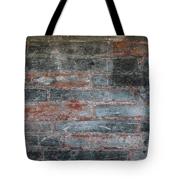 Tote Bag featuring the photograph Antique Brick Wall by Elena Elisseeva
