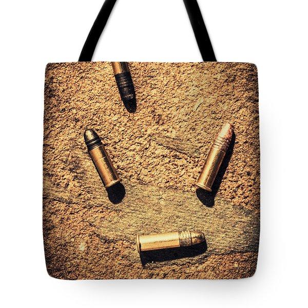 Antique Bullet Art Tote Bag