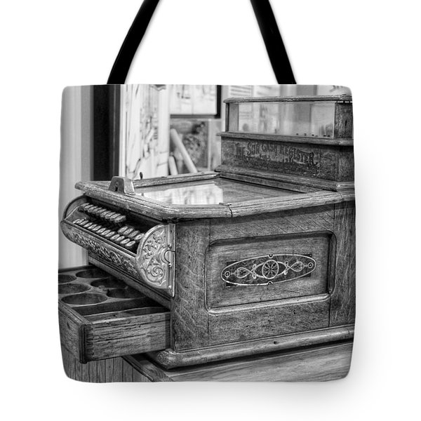 Antique Cash Register Tote Bag