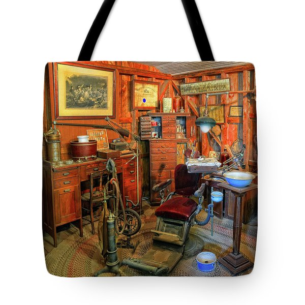 Antique Dental Office Tote Bag