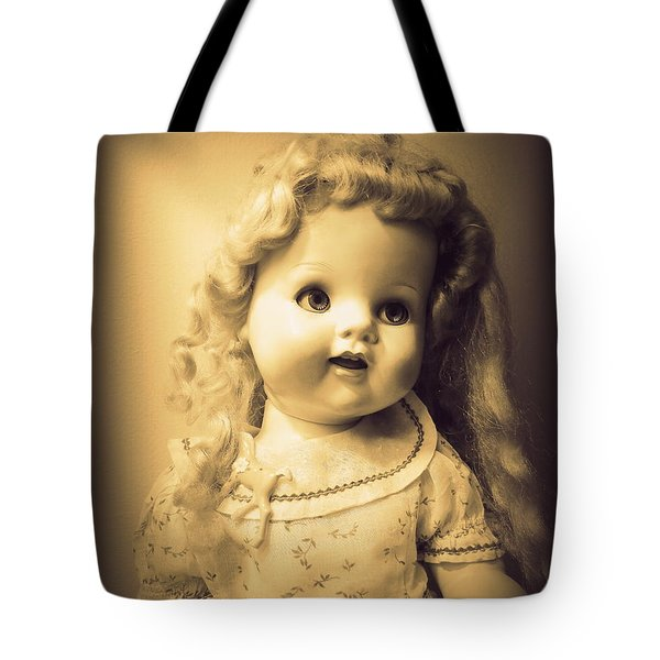 Antique Dolly Tote Bag by Susan Lafleur