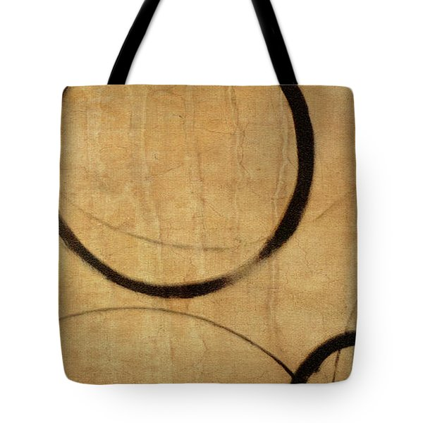 Tote Bag featuring the painting Antique Ensos by Julie Niemela