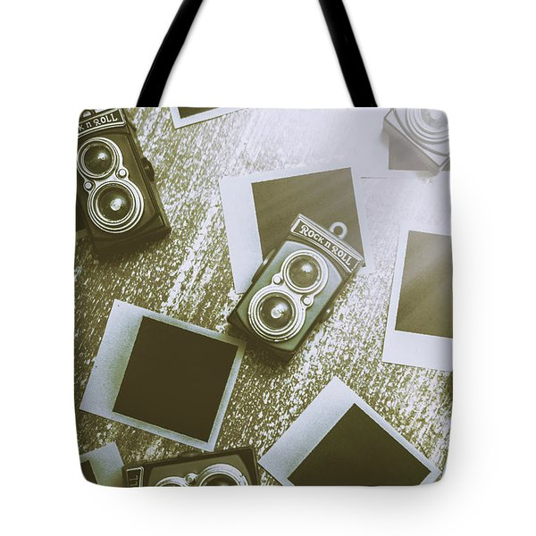 Antique Film Photography Fun Tote Bag