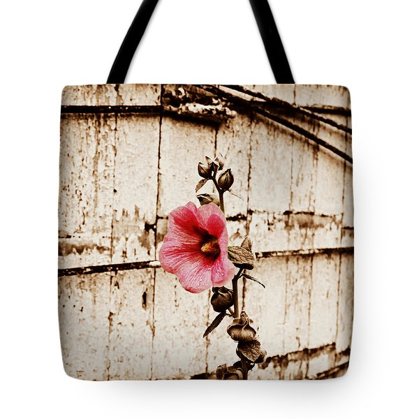 Antique Flower Tote Bag