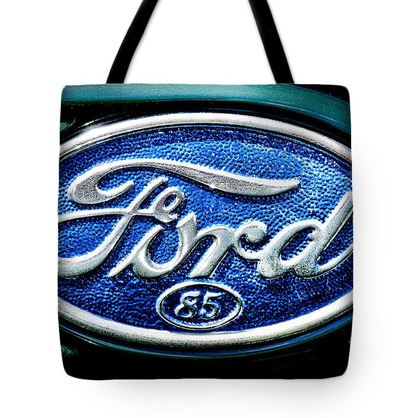 Antique Ford Badge Tote Bag
