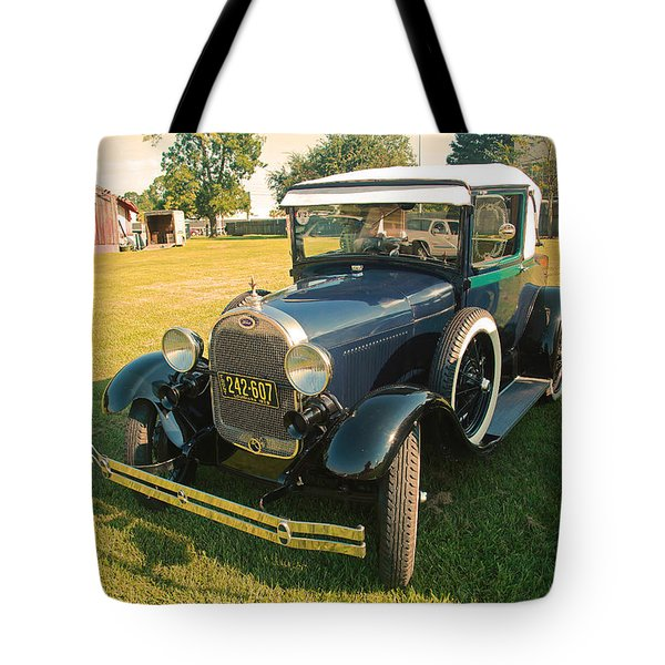 Antique Ford Car Tote Bag