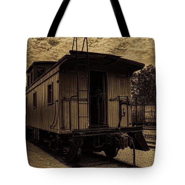 Antique Iron Range Caboose Tote Bag