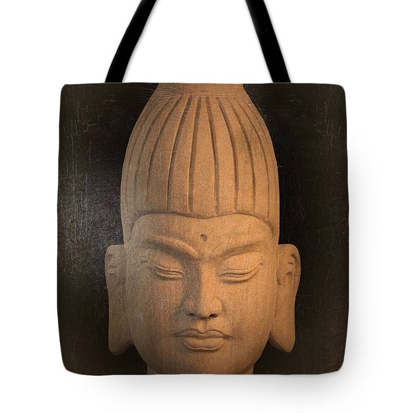 antique oil effect Buddha Burmese Tote Bag by Terrell Kaucher