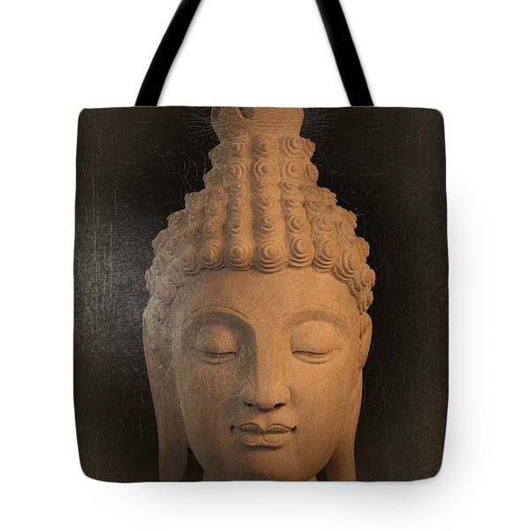 antique oil effect Buddha Sukhothai Tote Bag by Terrell Kaucher