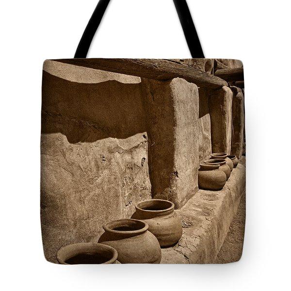 Antique Pots At Mission Tnt Tote Bag