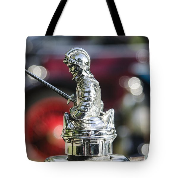 Tote Bag featuring the photograph Antique Radiator Cap by JRP Photography