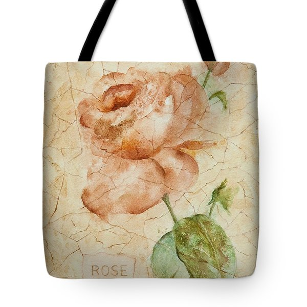 Antique Rose Tote Bag