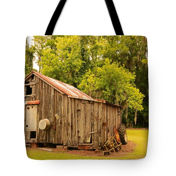 Antique Shed Tote Bag