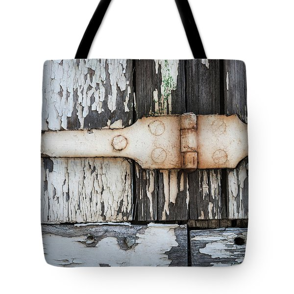 Tote Bag featuring the photograph Antique Shutter Detail by Elena Elisseeva