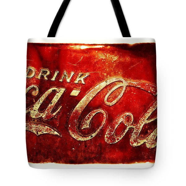 Antique Soda Cooler 2a Tote Bag by Stephen Anderson