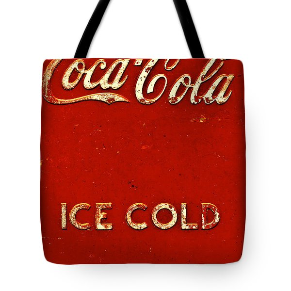 Antique Soda Cooler 6 Tote Bag by Stephen Anderson