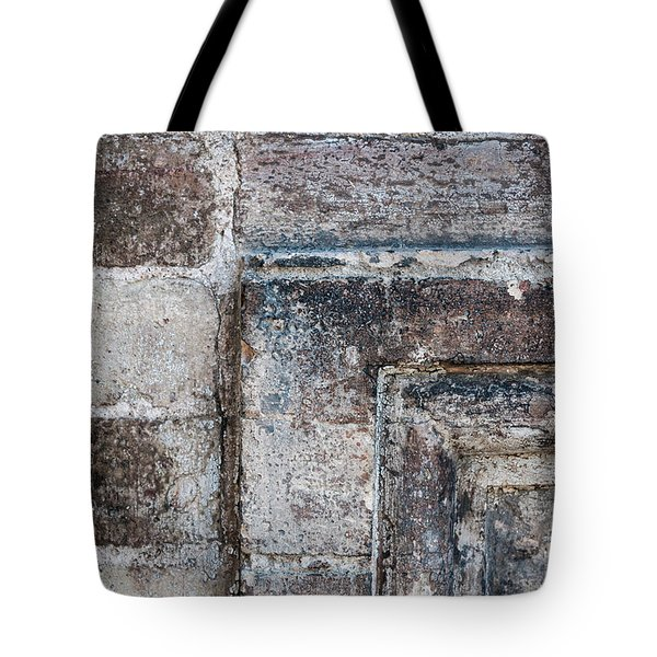 Tote Bag featuring the photograph Antique Stone Wall Detail by Elena Elisseeva