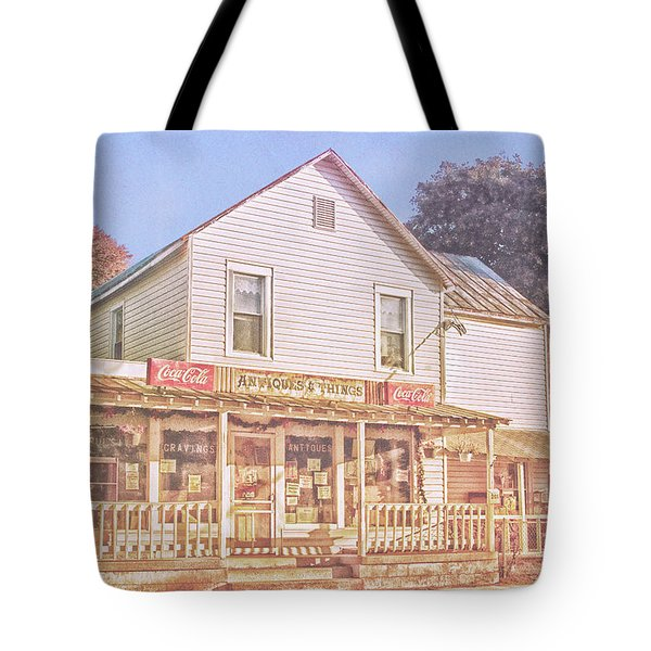 Antique Store, Colonial Beach Virginia Tote Bag