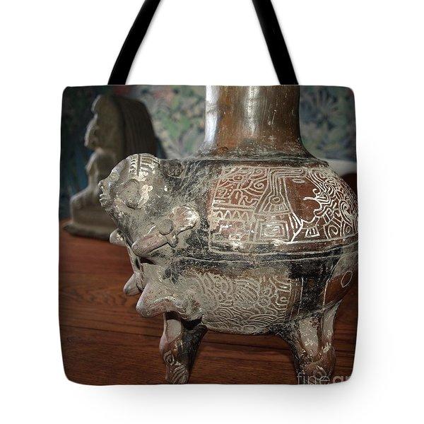 Antique Vase Tote Bag
