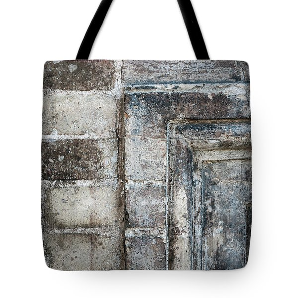 Tote Bag featuring the photograph Antique Wall Detail by Elena Elisseeva